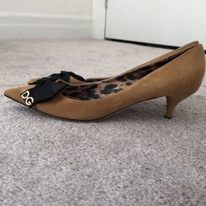 Authentic Dolce & Gabbana small heels